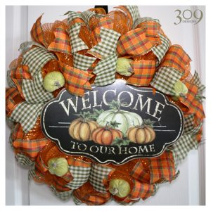 Autumn Harvest Fall-Themed Wreath