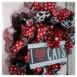 I Love Cats Wreath Pet-Themed Decor