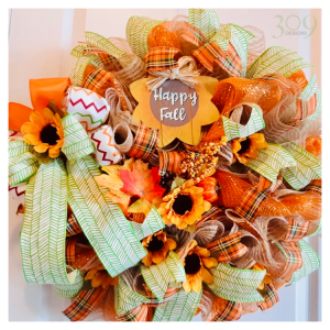 Happy Fall Wreath