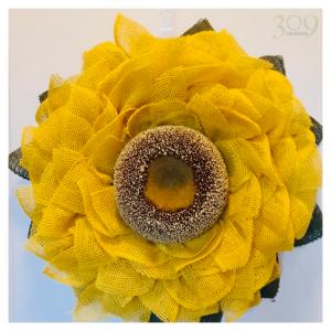 Sunny Day Sunflower Wreath