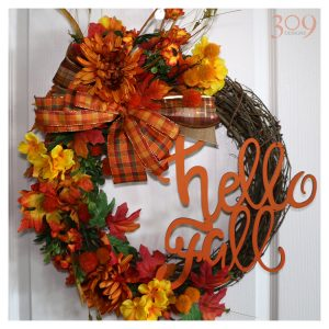 Hello Fall Wreath - Fall Decor