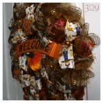 Welcome Autumn Wreath Fall Decor