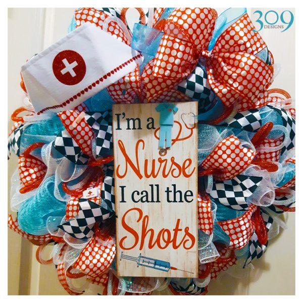 Nurse Boss Wreath
