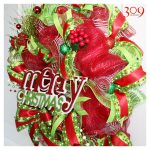 Very Merry Christmas Wreath
