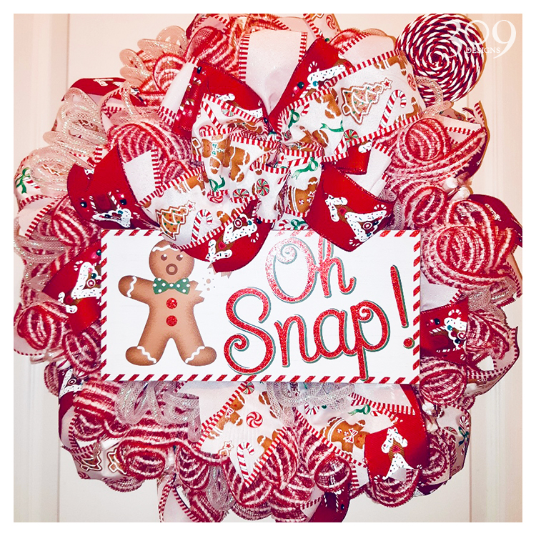 Ginger Snap Wreath