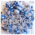 Winter Wishes Christmas Wreath